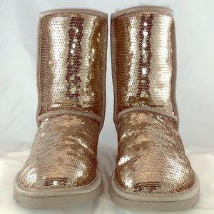 Gold sequins UGG Boots